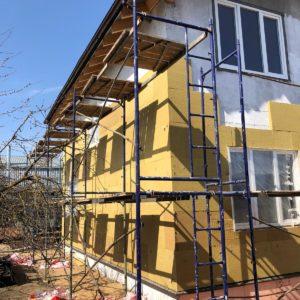 Фасадные работы: монтаж утеплителя на стены Раменское