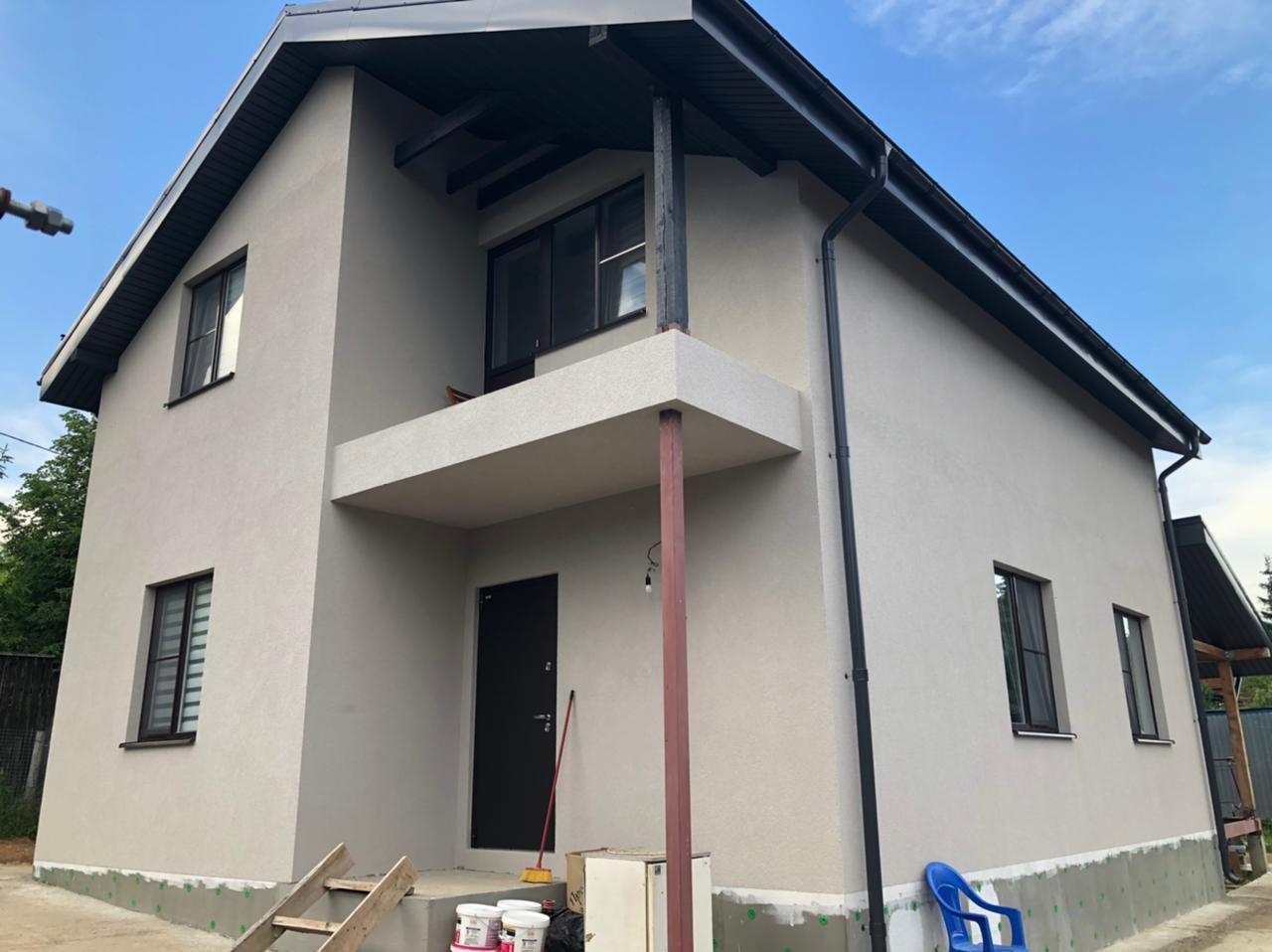 Завершение фасадных работ в СНТ Шапито